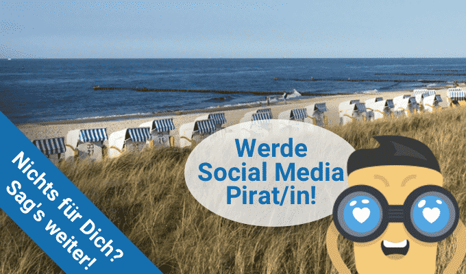 Werde Ostsee24 Social Media Pirat/in!