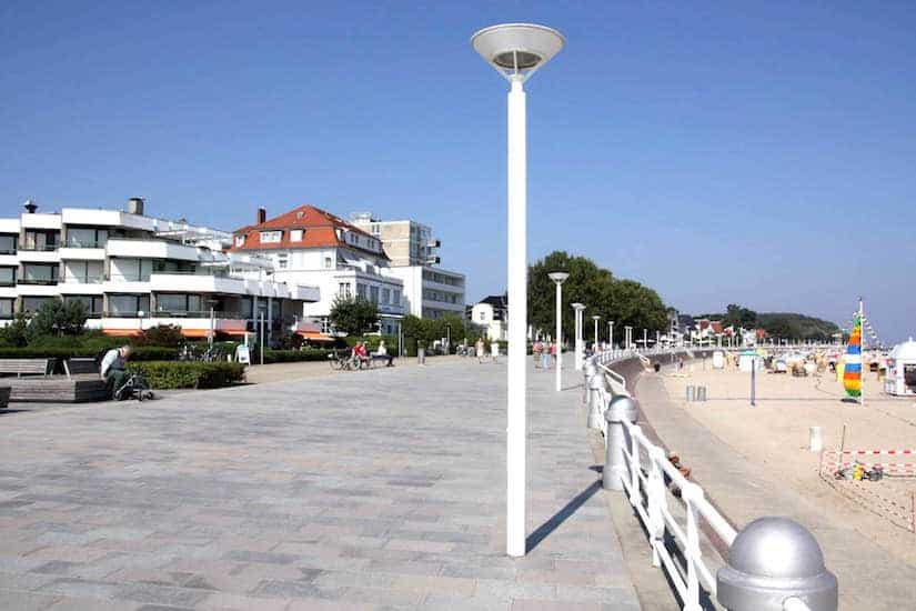 Promenade in Travemuende